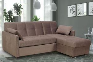Диван угловой Сочи с оттоманкой - Мебельная фабрика «Миларум»