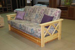 Диван с каркасом из натурального дерева - Мебельная фабрика «Добрый мастер»
