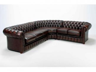 Угловой диван Честер-люкс 3+1+1 экокожа - Мебельная фабрика «Бриск»