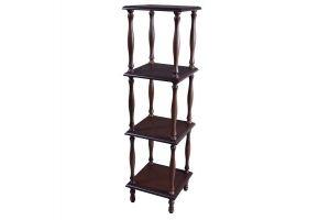 Этажерка П 8 Средне-коричневый - Мебельная фабрика «Мебелик»