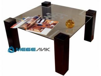 Стол журнальный Приз 1Н венге тонированное с иероглифом - Мебельная фабрика «Мебелик»