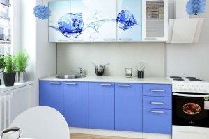 Кухня Голубой лед - Мебельная фабрика «Д.А.Р. Мебель»