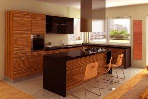 Кухня угловая с островом Грация - Мебельная фабрика «Альфа-М»