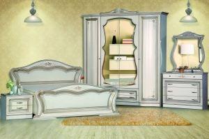 Спальня Катрин 4-дверная Белая - Мебельная фабрика «Кубань-Мебель»