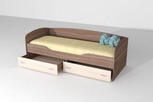 Кровать ЛДСП 2 Бриз - Мебельная фабрика «ДИАЛ»