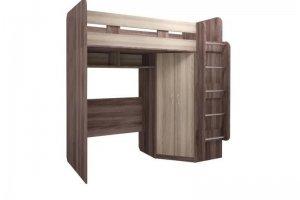 Кровать-чердак с угловым шкафом Доминик - Мебельная фабрика «Комфорт-S»