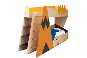 Кровать двухъярусная Апачи - Мебельная фабрика «Мандарин»