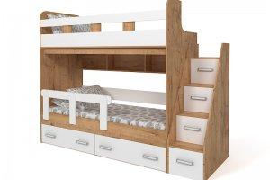 Кровать двухъярусная Радуга - Мебельная фабрика «БонусМебель»