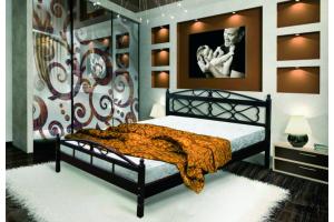 Кровать на металлокаркасе Оливия - Мебельная фабрика «РуСон - Прайм»