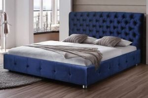Кровать с каретной стяжкой Прага - Мебельная фабрика «ИХСАН»