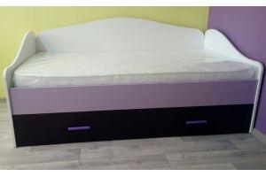 Кровать с выкатным местом Радуга - Мебельная фабрика «БонусМебель»