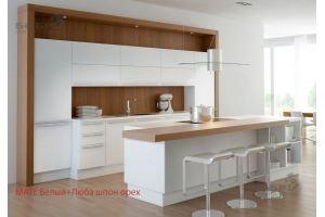 Кухня MATE пластик (за 1 м.п. без учета скидок) - Мебельная фабрика «Бобр»