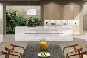 Кухня Лаката Белая - Мебельная фабрика «Молчанов»