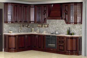 Модульная Кухня Нова 5 Орех кашир - Мебельная фабрика «Кубань-Мебель»
