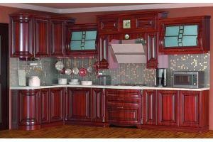 Модульная Кухня Сан-Марино 1700х3600 Эмаль Крем - Мебельная фабрика «Кубань-Мебель»