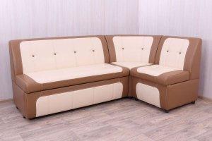 Кухонный диван Уют Marvel крем - Мебельная фабрика «DiArt»