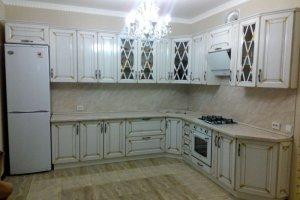 Кухонный гарнитур Карина в патине - Мебельная фабрика «C&K»
