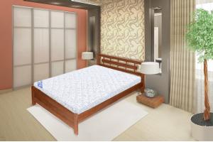 Кровать на металлокаркасе Алина - Мебельная фабрика «РуСон - Прайм»