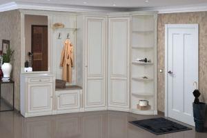 Модульная Прихожая Деметра Слоновая Кость (фото) - Мебельная фабрика «Кубань-Мебель»