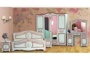 Модульная Спальня Азалия Белый Ясень 1600х2000 - Мебельная фабрика «Кубань-Мебель»