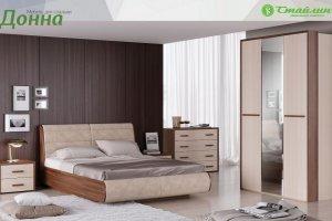 Спальня модульная Донна - Мебельная фабрика «Стайлинг»