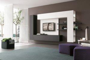 Современная подвесная гостиная Нео 1 - Мебельная фабрика «Альфа-М»