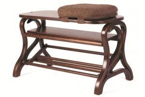 Обувница Диана средне-коричневый - Мебельная фабрика «Мебелик»