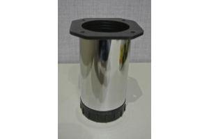 Опора d50 Н100 хром - Оптовый поставщик комплектующих «Юлдуз»