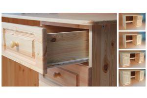 Письменный стол из сосны - Мебельная фабрика «Добрый мастер»