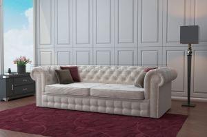 Прямой диван Честер - Мебельная фабрика «Полярис»