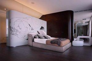 Роскошная дизайнерская кровать Энна - Мебельная фабрика «Diron»