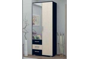 Шкаф 2х дверный комбинированный - Мебельная фабрика «Татьяна»