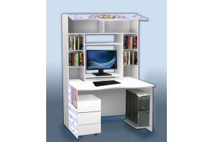 Шкаф-стол в детскую - Мебельная фабрика «Рим»