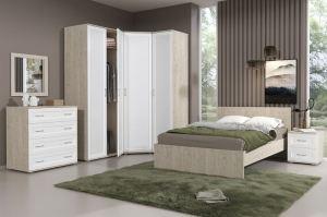 Спальня Сити-12 - Мебельная фабрика «Континент»
