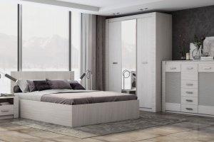 Спальня Ривьера - Мебельная фабрика «Линаура»