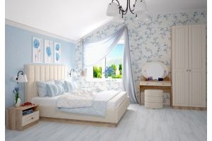 Кровать Богуслава 1600 ПМ - Мебельная фабрика «Комфорт-S»