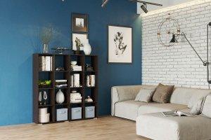 Стеллаж 3 венге - Мебельная фабрика «CASE»