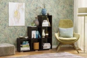 Стеллаж 4 венге - Мебельная фабрика «CASE»