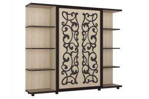 Шкаф в гостиную Валенсия туя - Мебельная фабрика «Аквилон»