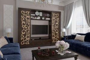 Стенка в гостиную Валенсия - Мебельная фабрика «Аквилон»