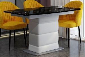 Стол обеденный Уют Чёрный мрамор - Мебельная фабрика «А-Элита»