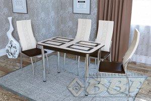 Стол стеклянный Квадро - Мебельная фабрика «ВВР»