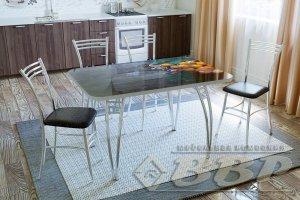 Стол стеклянный с фотопечатью Прямоугольник - Мебельная фабрика «ВВР»
