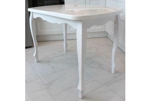 Стол 5 столешница из камня - Мебельная фабрика «Мир камня»