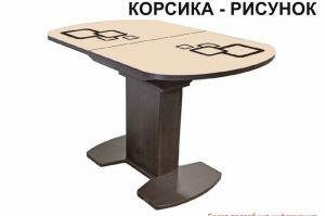 Стол обеденный Корсика рисунок - Мебельная фабрика «Аврора»