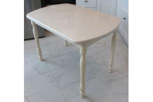 Стол 3 столешница из камня - Мебельная фабрика «Мир камня»