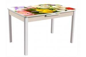 Стол Баут с автоматическим выдвижением вставки - Мебельная фабрика «АТЛАС»