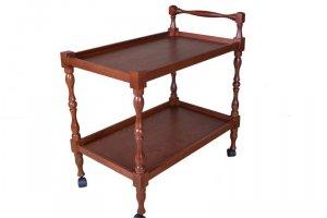Стол сервировочный Бридж средне-коричневый - Мебельная фабрика «Мебелик»