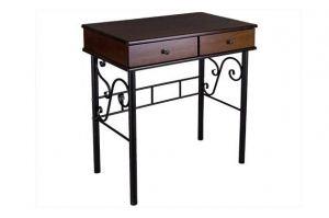 Стол туалетный Сартон 21 черный/средне-коричневый - Мебельная фабрика «Мебелик»