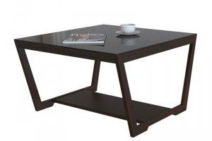 Стол журнальный BeautyStyle 1 венге/стекло черное - Мебельная фабрика «Мебелик»